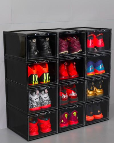 Hộp giày nhựa Mica/ABS Enito Black Box