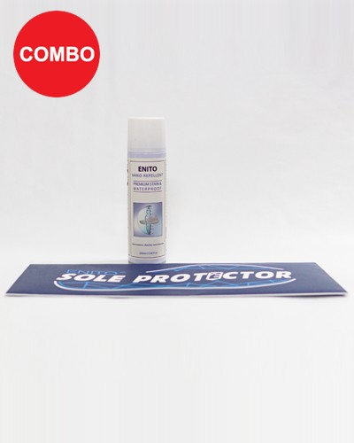Shoes Protect Combo (1 Enito Nano Repellent 250ml + 1 Enito Sole Protector)