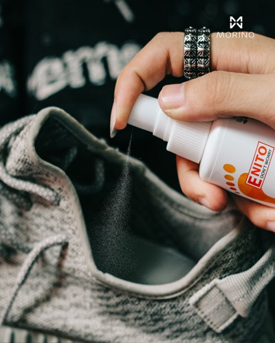 Xịt khử mùi, kháng khuẩn cho giày Enito Don't Worry